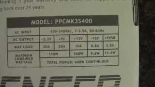 PC Power and Cooling MKIII Silencer 400W