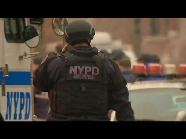Un hombre acaba con la vida de dos policías de Nueva York antes de suicidarse