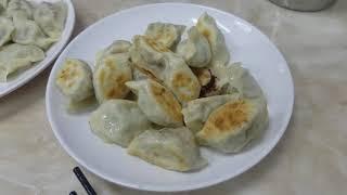 Fried dumplings and boiled dumplings