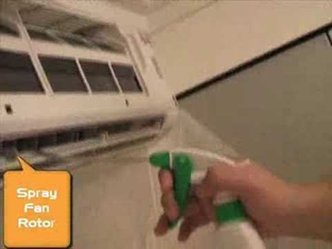 Aircon Chemical Cleaning In 15 Mins Youtube