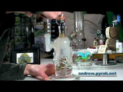 My New Grace Glass Circ Perc Bong (Amsterdam Weed Review)