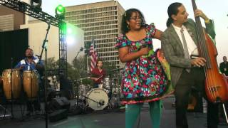 "La Santa Cecilia ""En Fin"" @ Grand Park 4th of July DTLA"