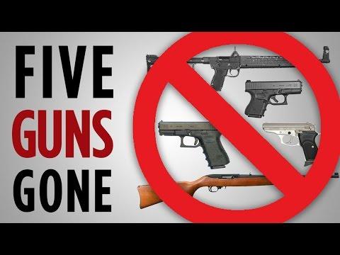 5 Guns I Got Rid of, and Why.