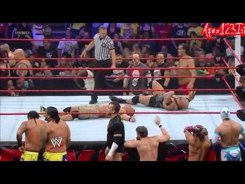 WWE Payback John Cena Vs Ryback For Wwe Championship Match Highlights.