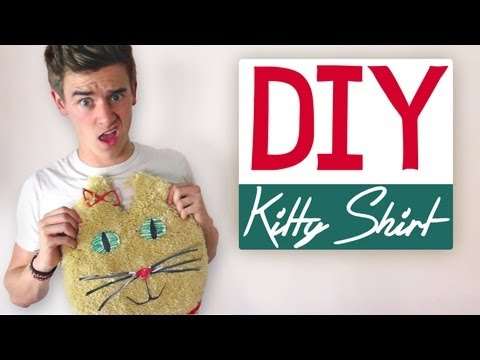 DIY: KITTY SHIRT
