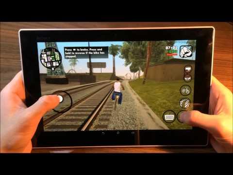 GTA San Andreas - Android - Sony Tablet Z