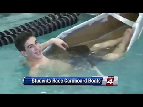 Hillel Day School's Cardboard Boat Regatta