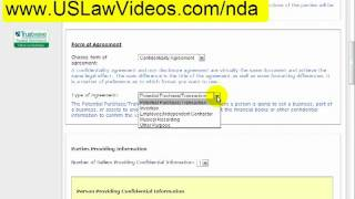 Non-Disclosure Agreement (NDA) / Confidentiality Agreement -- Independent Contractor