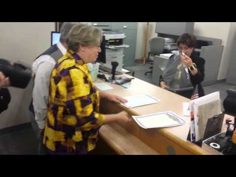 First same-sex marriage license issued in Columbia, Missouri