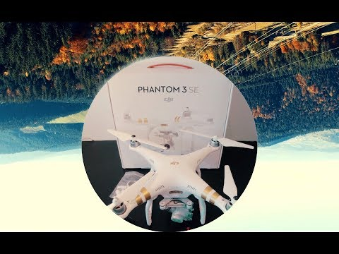 DJI Phantom 3 SE Drone Unboxing & Beautiful Autumn Flight