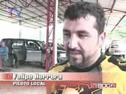 Se realizó competencia de motocross en yunguilla