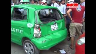 Xe chở gas gây tai nạn liên hoàn - Tuổi trẻ TV