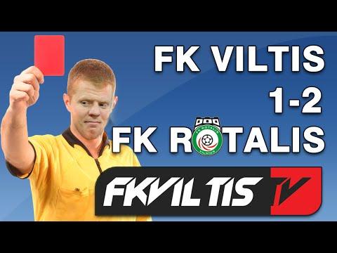 FK Viltis 1-2 FK Rotalis (II lyga 2 turas rytų zona)