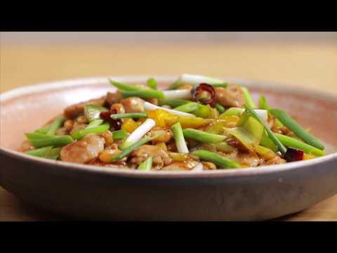Курица Гунбао. Китайская кухня.