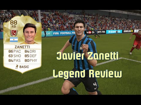 FIFA 16 - Javier Zanetti - Legend Review