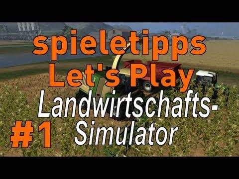 Let's Play Landwirtschafts-Simulator 2011 #1 [Deutsch] [HD] - Das Chaos beginnt