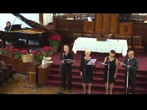 Quarteto Vitoria  Pequena vila de Belém.flv