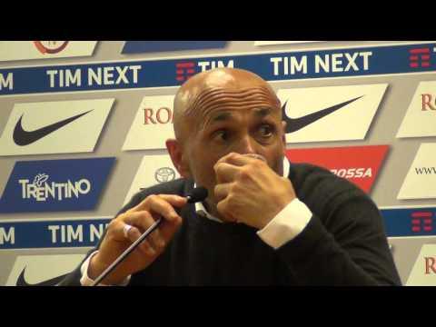 Roma-Torino 3-2, Spalletti parla di Totti in conferenza stampa
