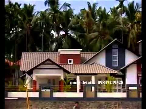 Manoram vastu veedu modern villa plan part 1 youtube for Manorama veedu photos
