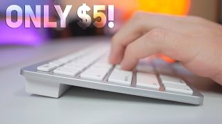 $5 Apple Keyboard Knockoff - Better than the original?!?
