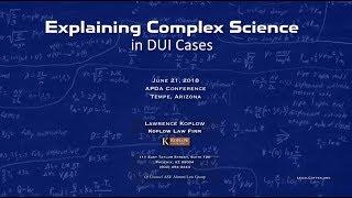 Explaining Complex Science