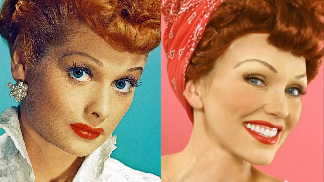 Lucille Ball I Love Lucy Makeup Tutorial Youtube