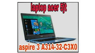 unboxing laptop acer aspire 3