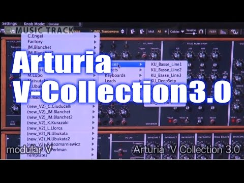 【DEMO】ARTURIA V Collection 3.0