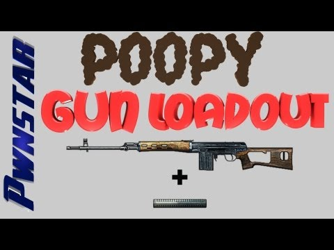 Poopy Gun Loadout - SVD Suppressor BEST ENDING EVER