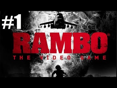 Chapter 1 Prologue - Rambo The Video Game Walkthrough Part 1 No Commentary video
