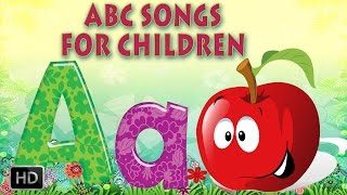 Alphabet Song ABCD - A for APPLE - Phonics Song with Lyrics