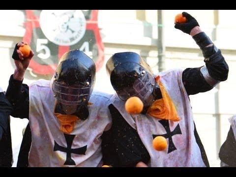 Итальянцы вступили в «Битву апельсинами» (новости)