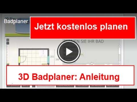 badplaner youtube. Black Bedroom Furniture Sets. Home Design Ideas