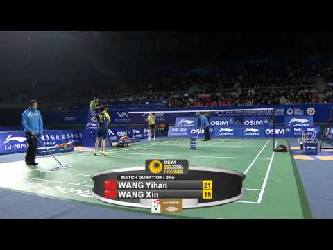 2011 OSIM BWF World Superseries Finals-WS-Semi Finals-Yihan Wang vs. Xin Wang.mkv