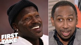 Show me that Antonio Brown was the problem with the Steelers! – Stephen A. | First Take