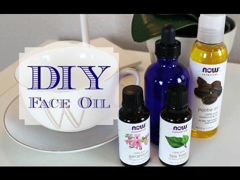 DIY   Face Oil!