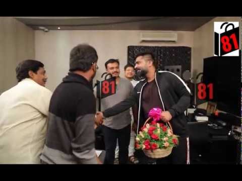 Tamil actor Simbu Sings for Kannada Movie 'Iruvudellava Bittu'