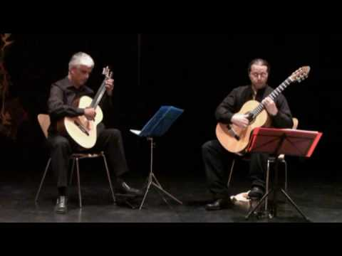 Spanish Dance No.2 by Enrique Granados performed by Carlos Garcia-Benitez and Josep Manzano