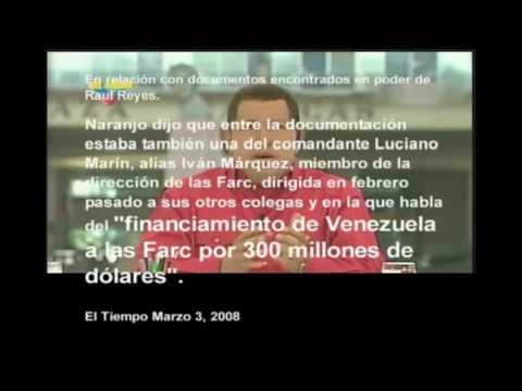 """http://www.nomaschavez.org/ """"Lo asesinaron miserablemente"""", dijo el presidente �lvaro Uribe y anunció que mantendrá la recompensa de mil millones de pesos pa..."""