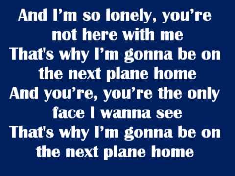 Next Plane Home - Daniel Powter Lyrics