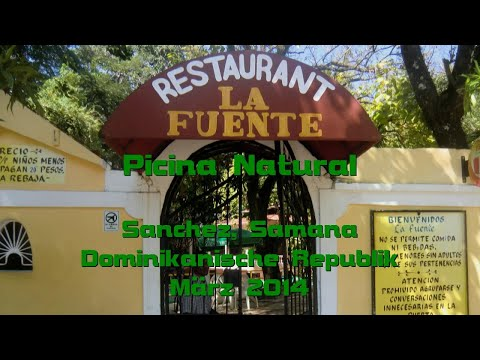 Picina Natural La Fuente Sanchez Samana