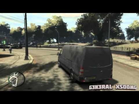 Mercedes Sprinter 313CDI LWB 2011  Review Test Drive On GTA IV Car Mod.wmv