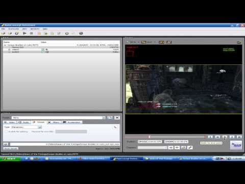 How to edit Hauppauge 1212 HD Clips Part 1