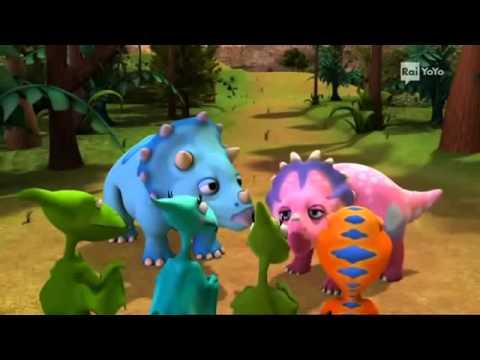 Il treno dei dinosauri Episodio 6 La festa della Cornucopia Cartoni animati per bambini