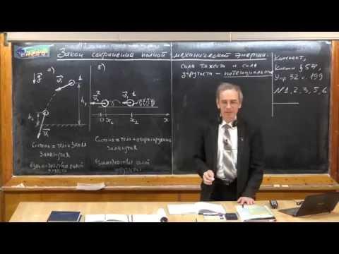 Урок 122. Закон сохранения полной механической энергии