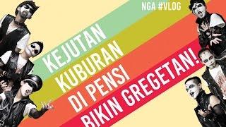 [ HEBOH!!! ] PENAMPILAN KEJUTAN KUBURAN DI PENSI BIKIN GREGETAN!   NGA #VLOG 7
