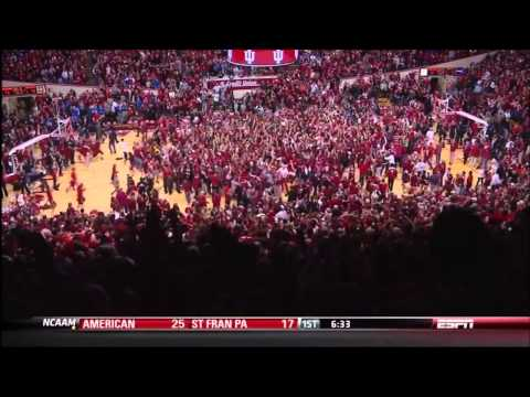 Indiana Beats Kentucky at the Buzzer as called by Don Fischer 12/10/11