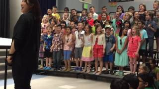 Ryan's 1st Grade Concert- Song 1 ( clip 1 of 2)