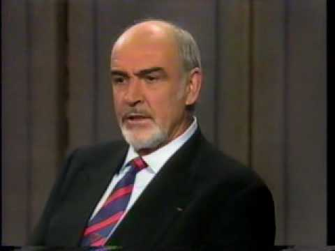 Sean Connery on Late Show with Letterman
