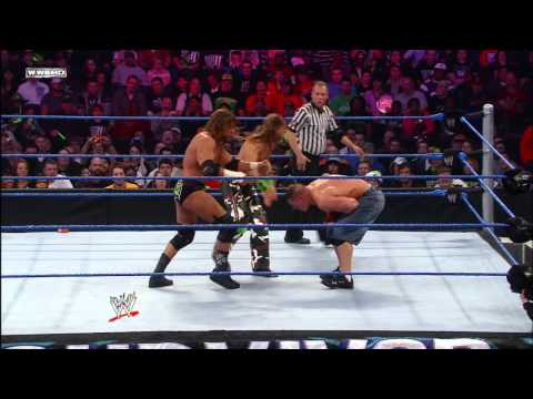 John Cena Vs. Triple H Vs. Shawn Michaels - Wwe Championship Match: Survivor Series 2009 video